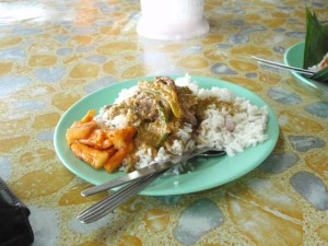 Nasi dagang, Kerteh, Terengganu