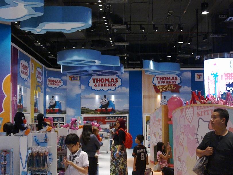 Kedai Cenderahati di dalam Hello Kitty Sanrio Town