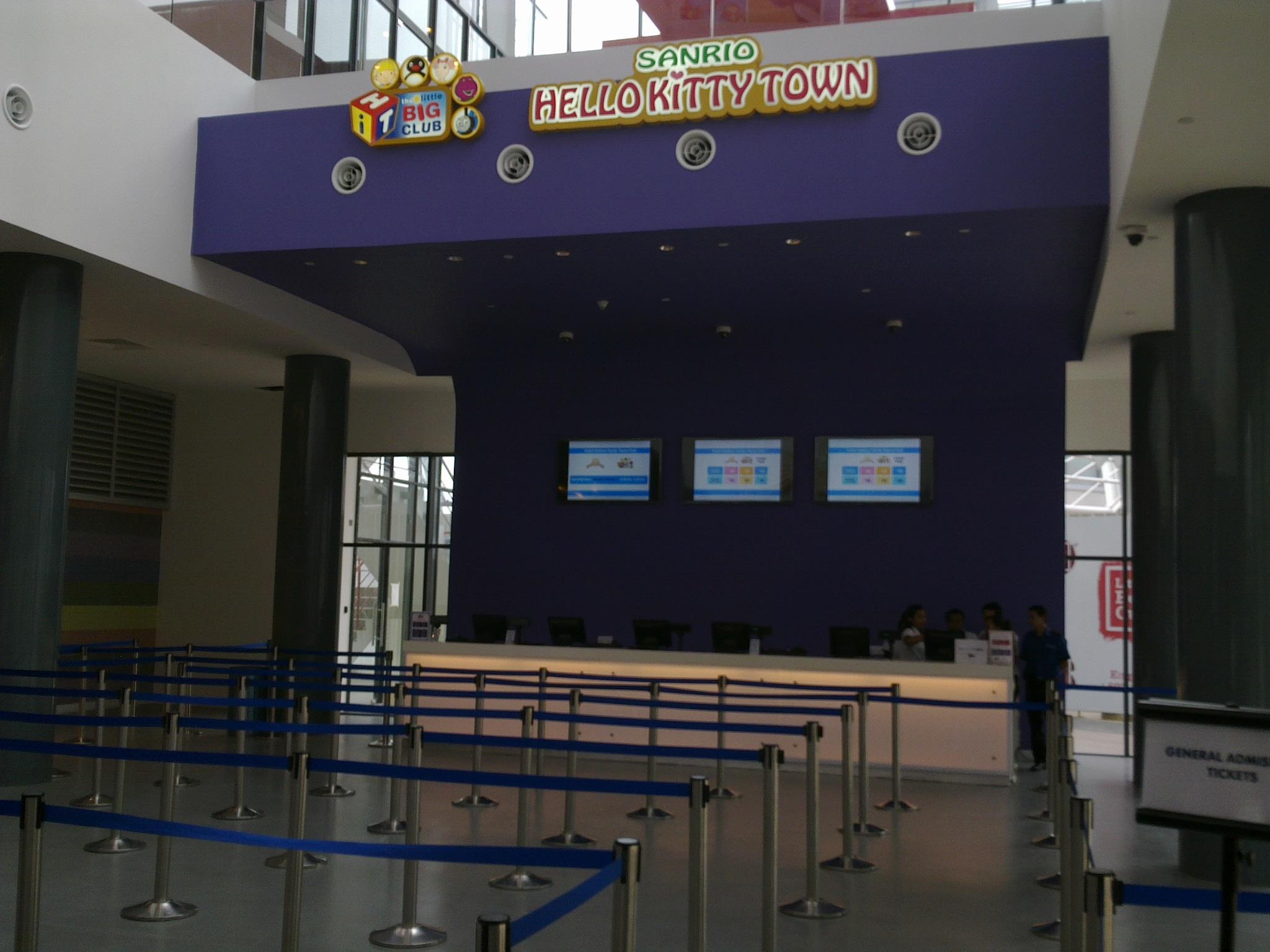 Tempat Menarik Johor Bahru Hello Kitty Nusajaya Kaunter Tiket