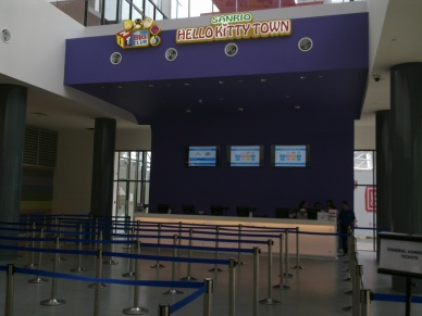 Tempat-menarik-Johor Bahru-Hello-Kitty-Nusajaya-kaunter tiket