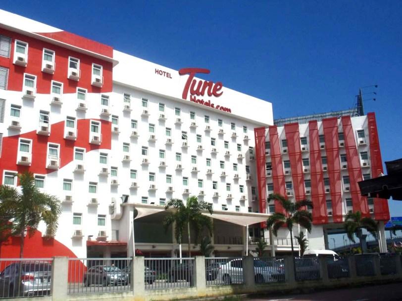Tune Hotel Danga : Bajet hotel Johor Bahru Nusajaya