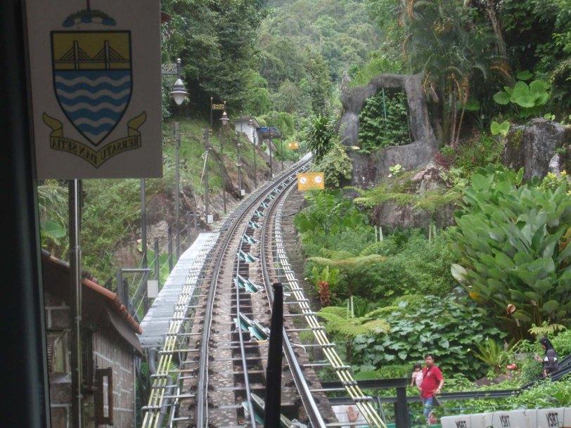 Tempat menarik Pulau Pinang-Bukit Bendera-keretapi Bukit Bendera