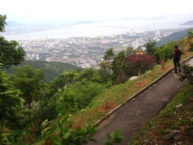 Tempat menarik Pulau Pinang-Bukit Bendera-puncak