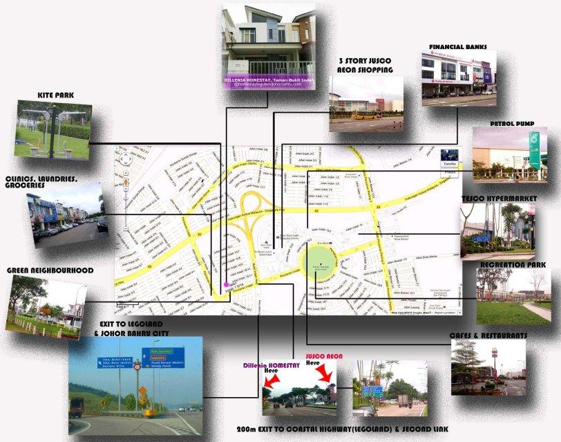 Homestay dekat Legoland Malaysia - Bandar Taman Bukit Indah