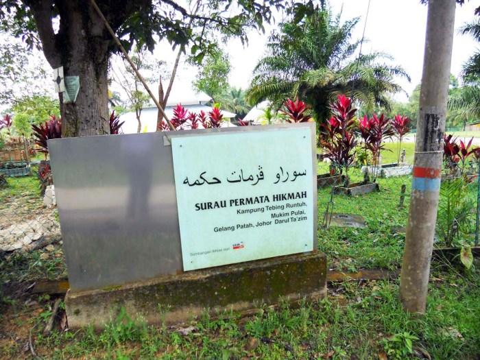 Kg Tebing Runtuh - belakang Kota Iskandar