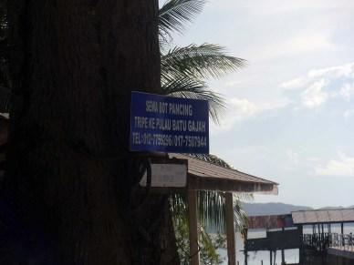 Air papan chalet : Fishing Bay Resort