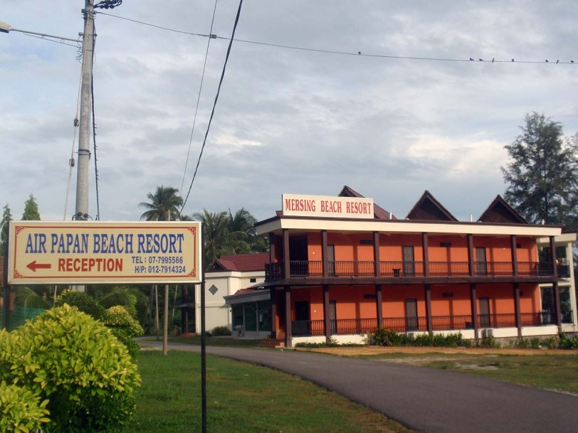 Air Papan Beach Resort, Mersing