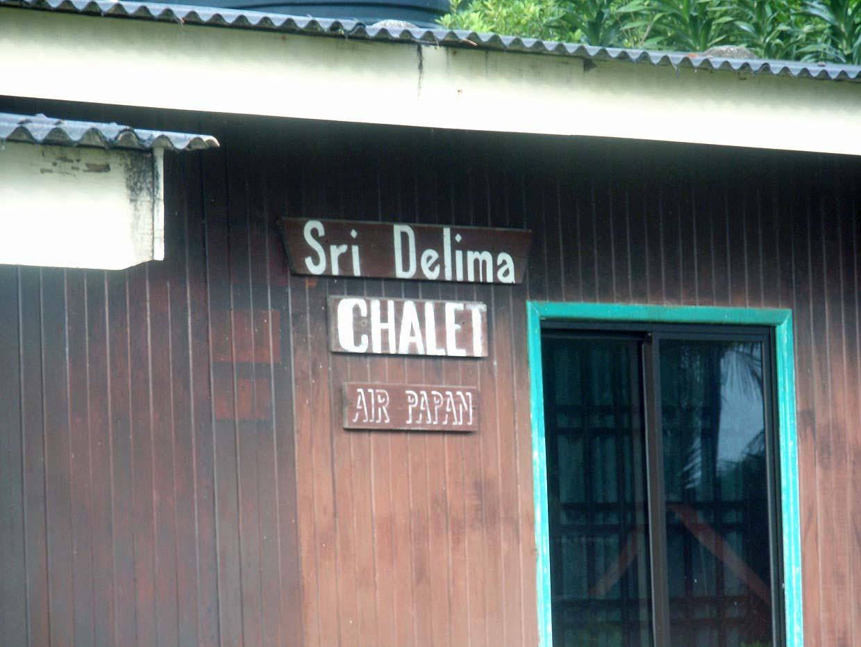 Air Papan Chalet Mersing Air Papan Chalet Dan Resort
