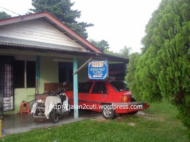 Air Papan, Chalet dan Resort : Sri  Delima Chalet Pejabat Pengurusan