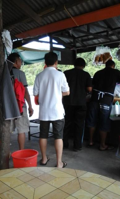 Tempat makan-minum di Johor Bahru : Warung Cendol Mak Siti, Ulu Choh, Johor Bahru