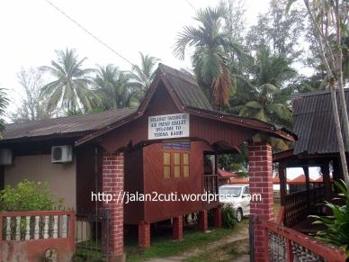 Air Papan, Chalet dan Resort :  Air Papan Chalet