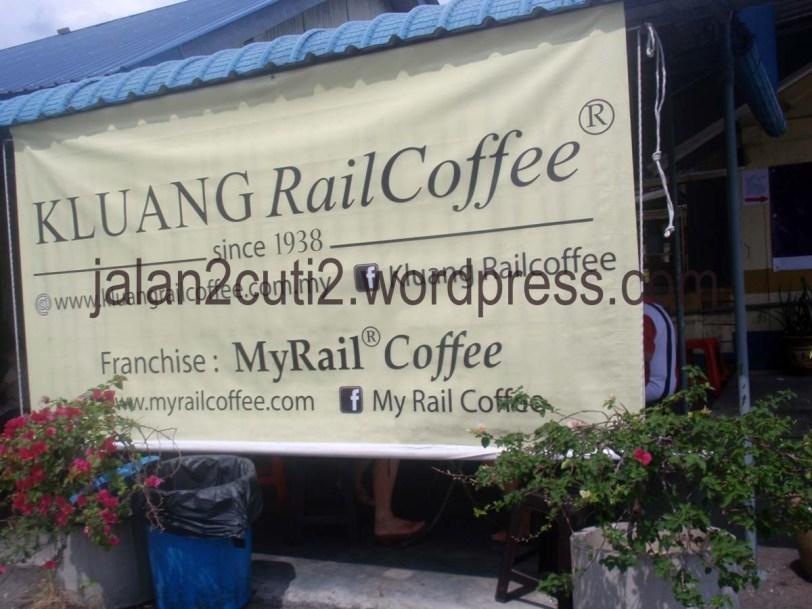 tempat makan best di kluang, Kluang Rail Coffee,tempat menarik di Johor,stesyen keretapi Kluang,