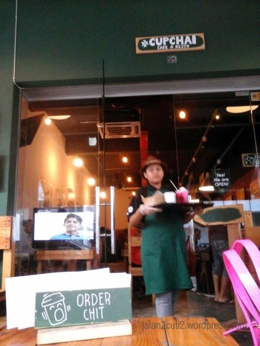 Tempat Makan Minum Best di Johor Bahru : Cupchai Cafe & Resto