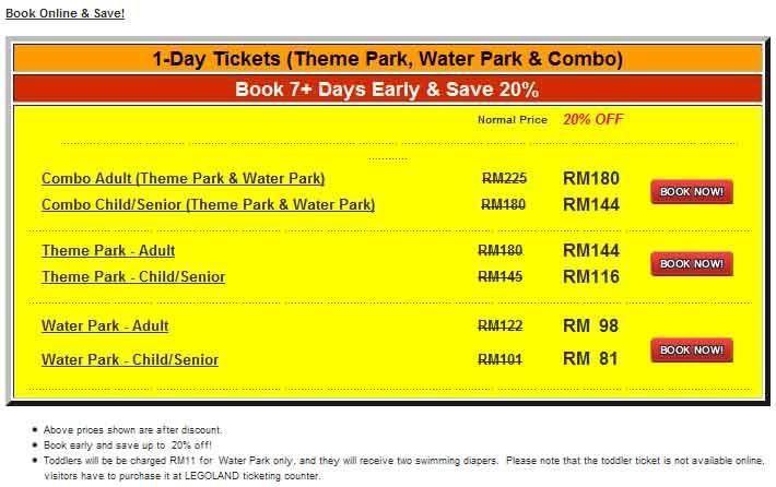 legoland malaysia-homestay-promo-tiket-diskaun20%