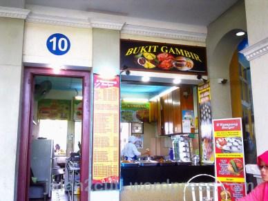 Tempat Makan di Johor Bahru : Nasi Lemak Kukus RNR Gelang Patah