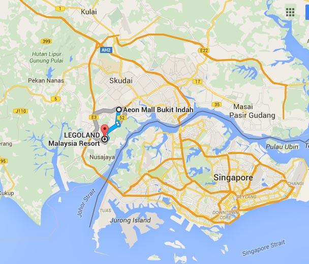 legoland-aeon-bukit-indah : Tempat menarik dekat Johor Bahru : Iskarnival 12-13 November 2016, Puteri Harbour cuma 5 minit dari Legoland-homestay