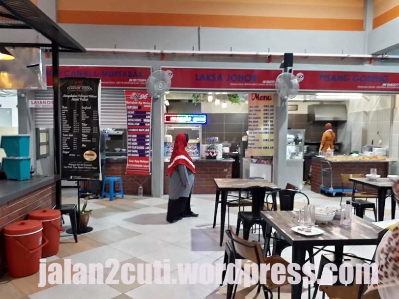 Medan Selera Plaza Larkin : Tempat Makan Di Johor Bahru