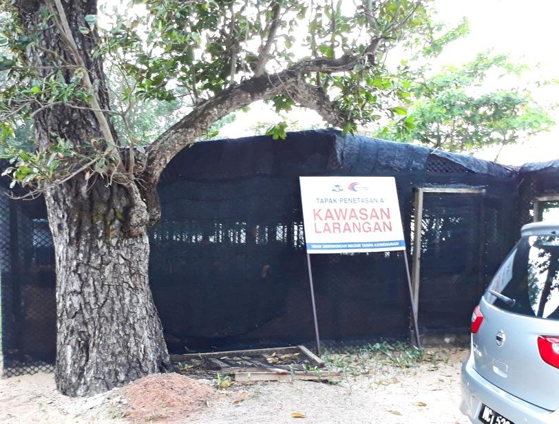 Padang Kemunting Melaka : Pusat Pengurusan Penyu pantai