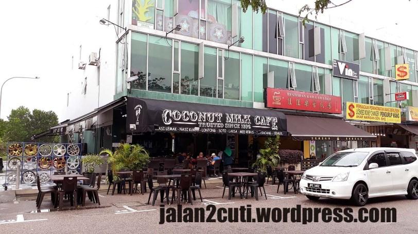 Tempat Makan Best Johor Bahru : Coconut Milk Cafe, Adda Height