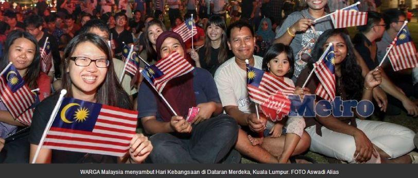 Selamat Hari Kemerdekaan 31 Ogos Malaysia Tahun 2018!