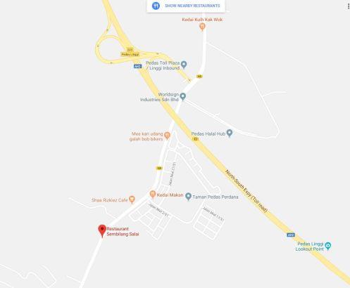 Maps-Kedai-Makan-Sembilang-Pedas Linggi hala Port Dickson