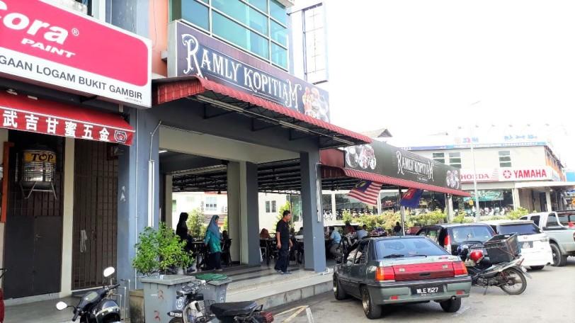 Tempat makan di Muar, Johor : Ramly Kopitiam, Bandar Bukit Gambir