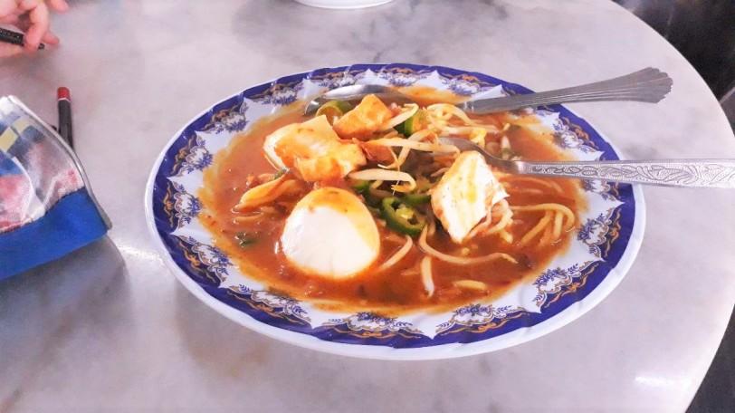 Tempat makan di Muar, Johor : Ramly Kopitiam, Bandar Bukit Gambir -mee rebus ramly kopitiam