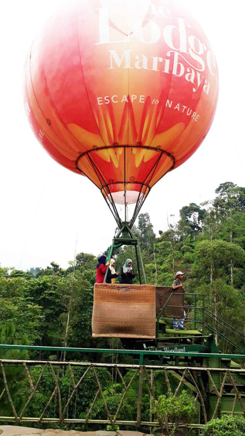 The Lodge Woodland Maribaya sebuah tempat peranginan tanah tinggi Bandung